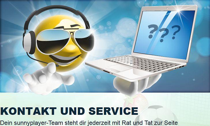 Sunnyplayer Test Kundendienst