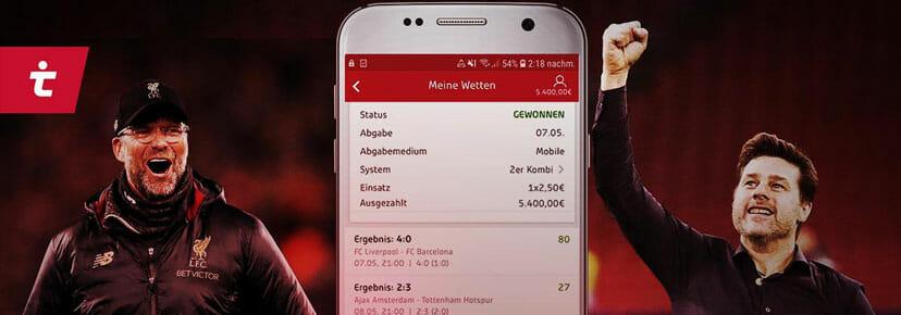 Tipico App Kombiwetten