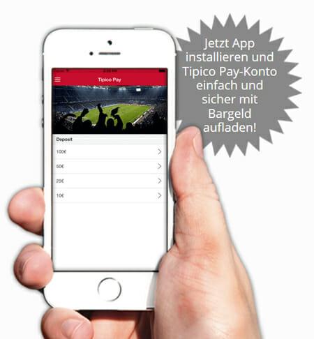 Tipico Sportwetten Pay App