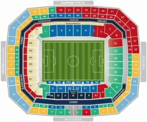 Veltins Arena Stadionplan Schalke 04