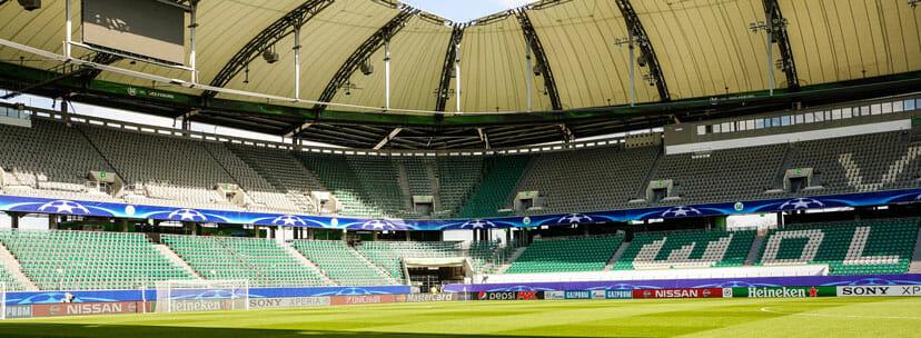 Volkswagen Arena Innenraum