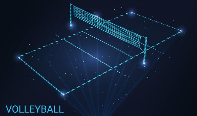 Volleyball Wetten Spielfeld