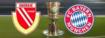 Wett Tipps DFB Pokal: Energie Cottbus gegen Bayern Muenchen
