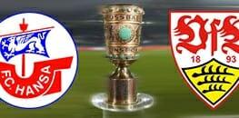 Wett Tipp DfB Pokal Rostock gegen Stuttgart