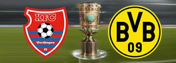 Wett Tipps DFB Pokal: KFC Uerdingen gegen BVB Dortmund