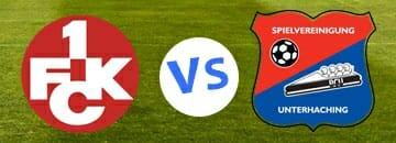 Wett Tipp FC Kaiserslautern gegen SpVgg Unterhaching