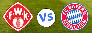 Wett Tipp Wuerzburger Kicker gegen FC Bayern Muenchen