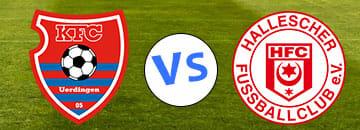 Wett Tipp KfC Uerdingen gegen Hallescher FC