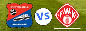 Wett Tipp SPvGG Unteraching gegen Wuerzburger Kickers