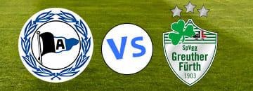 Wett Tipps 2 Bundesliga Arminia Bielefeld gegen SpVgg Greuther Fuerth