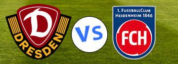 Wett Tipps 2 Bundesliga Dynamo Dresden gegen FC Heidenheim