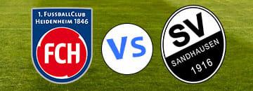 Wett Tipps 2 Bundesliga FC Heidenheim gegen SV Sandhausen