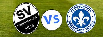 Wett Tipps 2 Bundesliga SV Sandhausen gegen Darmstadt