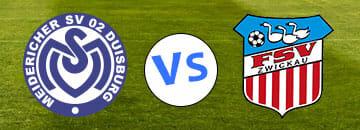 Wett Tipps 3 Liga MSV Duisburg gegen FSV Zwickau