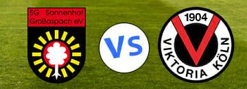 Wett Tipps 3 Liga SG Sonnenhof Grossaspach gegen Viktoria Koeln