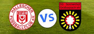 Wett Tipps 3 Liga Hallescher FC gegen Sonnenhof Grossaspach
