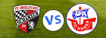 Wett Tipps 3 Liga FC Ingolstadt 04 gegen FC Hansa Rostock