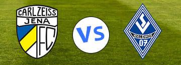 Wett Tipps 3 Liga Carl Zeiss Jena gegen SV Waldhof Mannheim