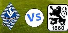 Wett Tipps 3 Liga: Waldhof Mannheim gegen 1860 Muenchen