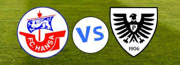 Wett Tipps 3 Liga Hansa Rostock gegen Preussen Muenster