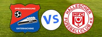 Wett Tipps 3 Liga SpVgg Unterhaching gegen Hallescher FC
