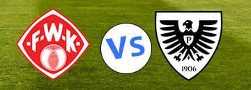 Wett Tipps 3 Liga Wuerzburger Kickers gegen Preussen Muenster
