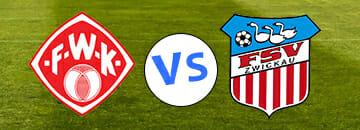 Wett Tipps 3 Liga Wuerzburger Kickers gegen FSV Zwickau