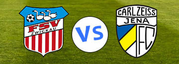 Wett Tipps 3 Liga: FSV Zwickau gegen Carl Zeiss Jena