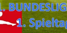 Wett Tipps Bundesliga erster Spieltag