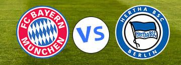 Wett Tipps Bundesliga Bayern Muenchen gegen Herta BSC Berlin