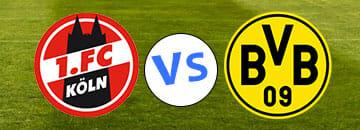 Wett Tipps Bundesliga 1 FC Koeln gegen Borussia Dortmund