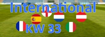 Wett Tipps International KW 33