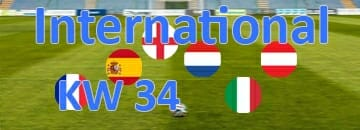 Wett Tipps International Kalenderwoche 34