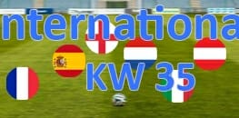 Wett Tipps International Kalenderwoche 35