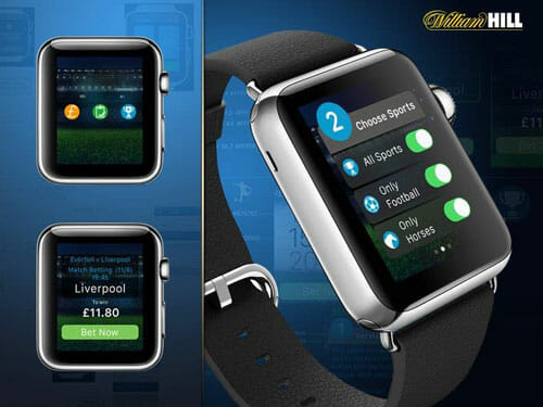William Hill Apple Watch