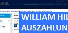 William Hill Auszahlung