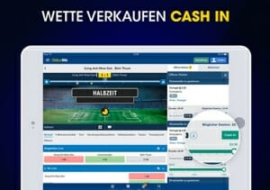 William Hill iPad Cash In