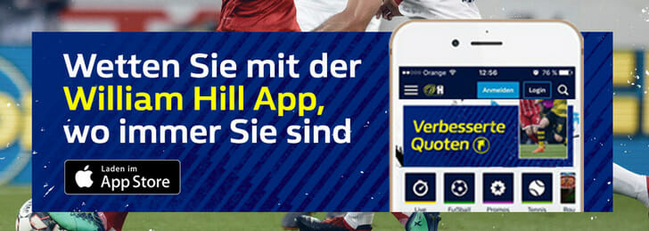 William Hill Sportwetten App
