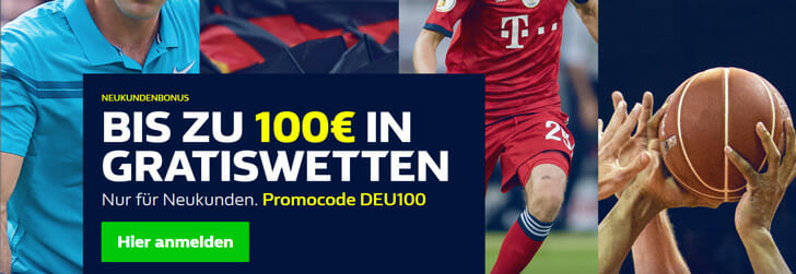 William Hill Sportwetten Bonus