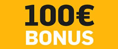 Willkommensbonus 100 Euro