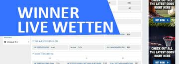 Winner Live Wetten