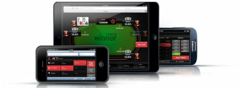 Winner Sports App mobile Poker