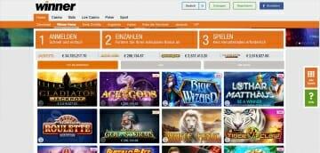 Winner Sportwetten Casino Vorschau