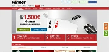 Winner Sportwetten Poker Vorschau